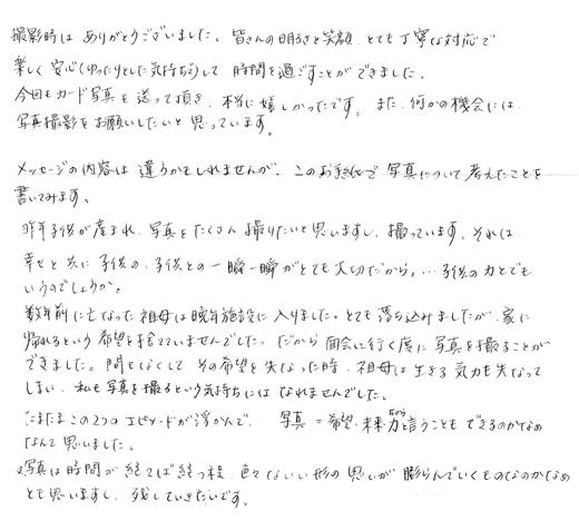 綿屋様(イニシャルC.W)